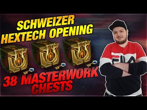 Hextech Opening Schweizer Edition! 38 Master Work Chests [League of Legends] thumbnail