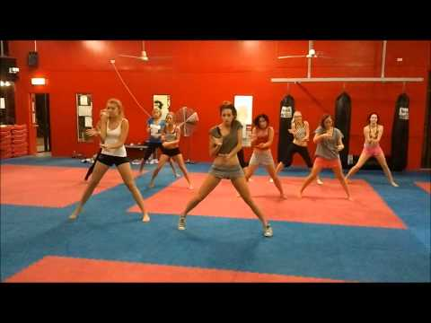 Dance Routine Croc Squad Cheerleaders - Get outta your mind