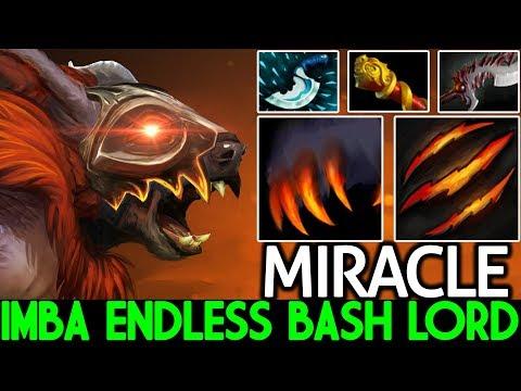 Miracle- [Ursa] Crazy Raid Boss Endless Bash Lord Hard Game 7.22 Dota 2