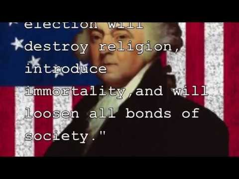 1800 Election Presidential Commercial John Adams