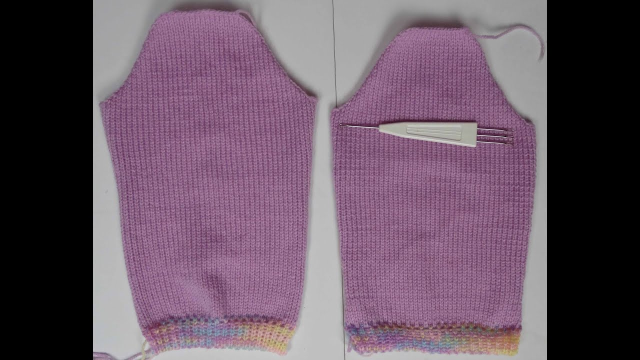 SWEATER SLEEVE /JUMPER ARM ON LK150 K360 KNITTING MACHINE - YouTube