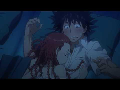 Toaru Majutsu no Index II - Agnese sleeps on Touma