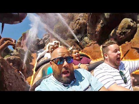Disney World Silly VIP Water Slide Park Roller Coaster Rides