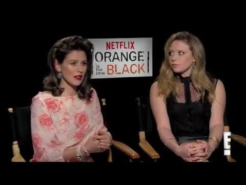 Yael Stone and Natasha Lyonne on OITNB Season 2 Sex Contest