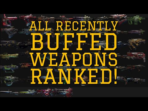 ALL THE RECENTLY BUFFED WEAPONS RANKED! Borderlands 3 Legendary Weapon Tier List!