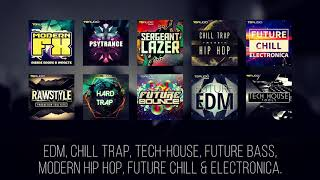 EDM Tech House Sample Collections - By TD Audio (Industrial Strength Records)