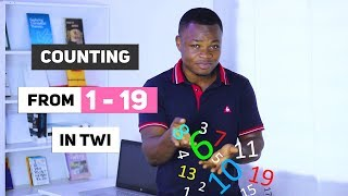 Let's Count from 1-19 in Twi | Twi Vocabulary | Akan Language Basics | Learn Akan