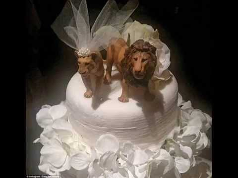 DIY Lion Wedding Cake Toppers Ideas - YouTube