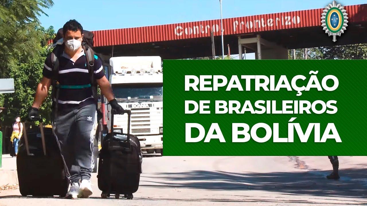 Apoio do Comando Conjunto Oeste na Repatriação de Brasileiros da Bolívia