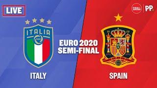 Italy vs Spain LIVE watchalong Euro 2020 semi final The Football Show
