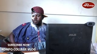 Komfo College meets his meeter Episode 2 - This Stammer guy and Paxword dey worry😂😂😂😂😂