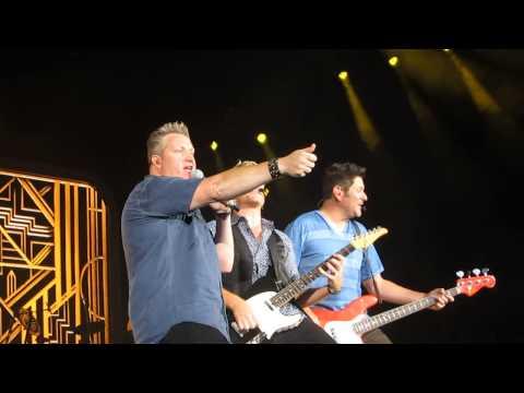Rascal Flatts singing Backwards - Live and Loud tour 2013  - Irvine 9/14/2013