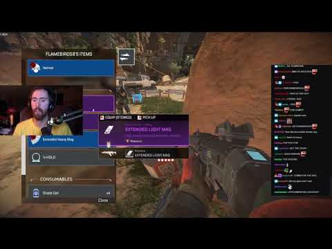 Asmongold plays Apex Legends - Part 2 - Pinksparkles slid into Asmongolds DM's