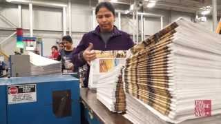 Video: A behind-the-scenes glimpse into how this newspaper gets made