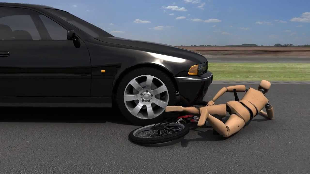 3D Crash Animation - Bike Accident - YouTube
