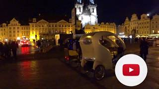 Ночная Прага в пятницу 11 октября, 2019 года