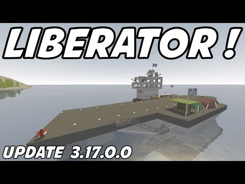 UNTURNED - Liberator Aircraft Carrier with NPC's !! (Update 3.17.0.0)
