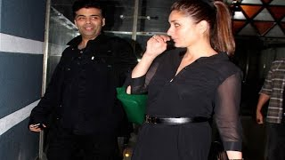 Pregnant Kareena Kapoor PARTIES with friends!