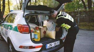 Pašvaldības policisti dodas labdarības braucienā uz Varakļāniem