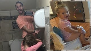 POTTY TRAINING SUCCESS! & SURVIVING CAMPING!│5•21•17 DAILY VLOG
