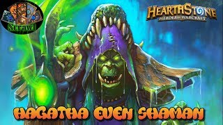 Hearthstone [german/DeckCheck] Hagatha Even Shaman!! [Meta]