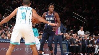 Ntilikina, Knox Stellar in Knicks Loss To Hornets: Highlights & Analysis