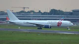 Rolling Stones B767 [ZS-NEX] Landing @ Hamburg Airport