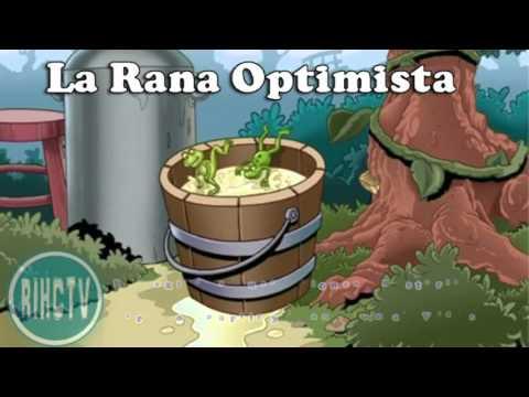 La rana optimista - REFLEXIÓN