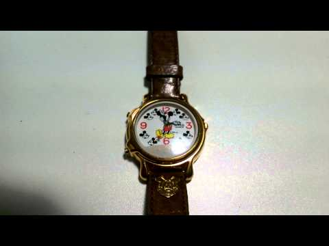 Lorus Mickey Mouse Musical watch