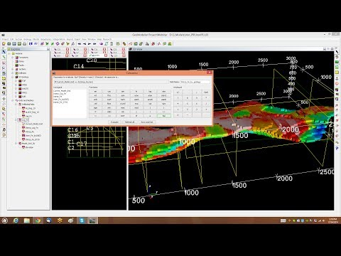 Webinar: 4/2014 Drill hole management and mesh/grid operations in GeoModeller