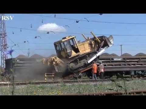 Как гусеничные трактора