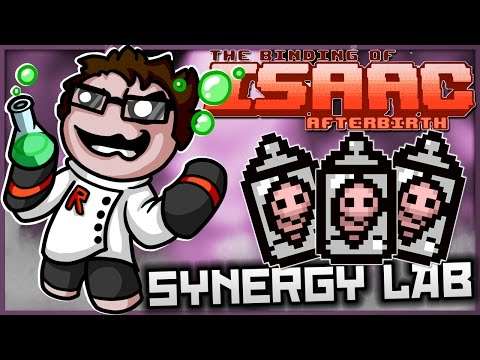 The Binding of Isaac: Afterbirth - Synergy Lab: ULTIMATE DR. FETUS!