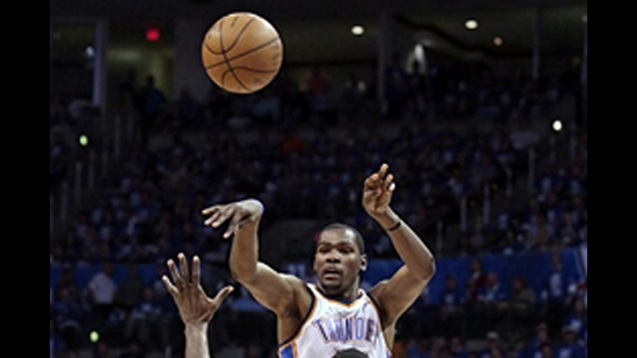 Russell westbrook and kevin durant alley oop