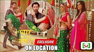 Iss Pyaar Ko Kya Naam Doon - Grah Pravesh Scene Coverage