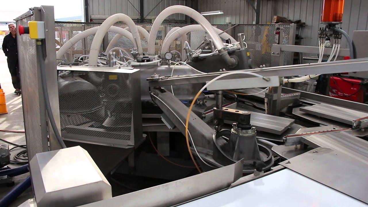 Cryovac Old Rivers 8600 Rotary Chambers  U0026 Product Unload