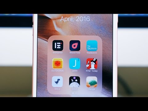 Top 10 iOS Apps of April 2016!