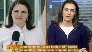 STF julga o caso do italiano Cesare Battisti