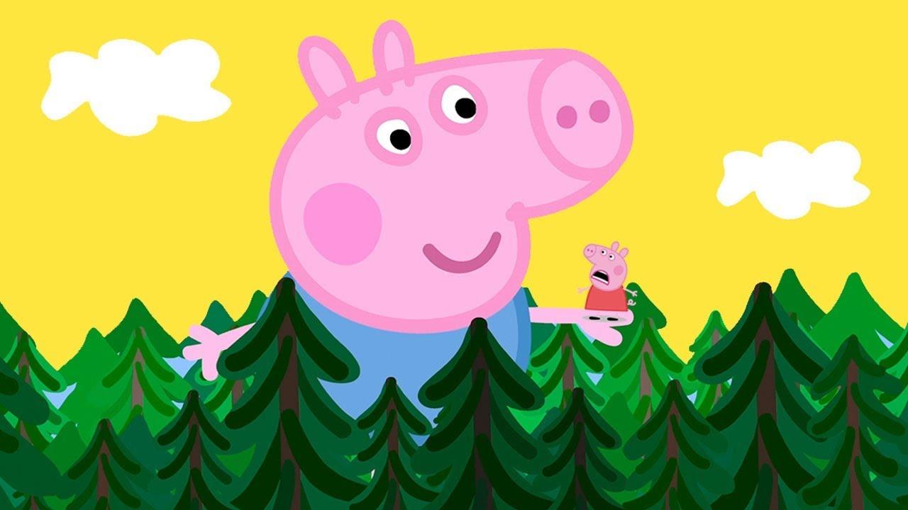 Peppa Pig Portugues Brasil George O Gigante Contos De Fadas
