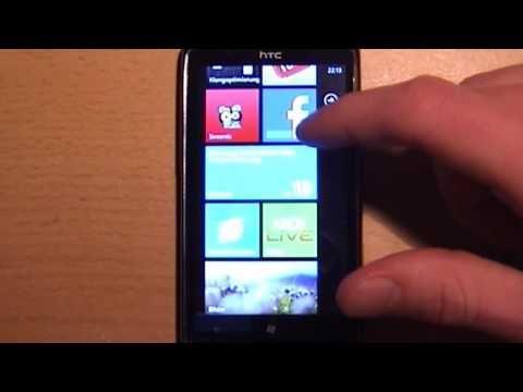 HTC 7 Trophy Smartphone im Test