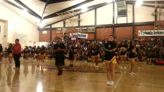 2013-2014 Rubidoux Cheer Homecoming Rally