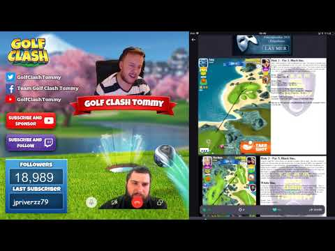 Golf Clash tips, TEXTGUIDES - Walkthrough of the SUMMER MAJOR tournament! With Mr Rj TV!