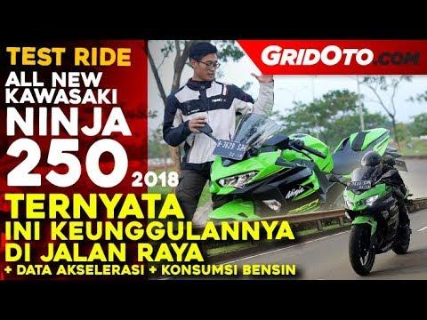 Kawasaki All New Ninja 250 2018   Test Ride   Review