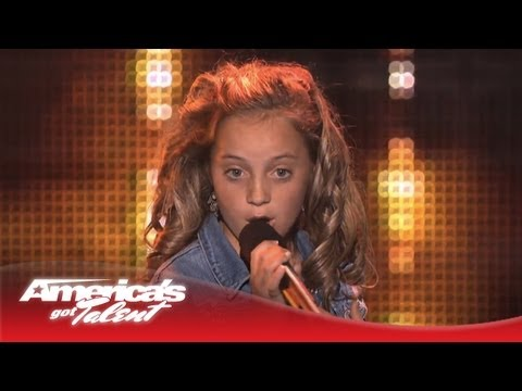 "Chloe Channell - Reba McEntire ""Turn on Your Radio"" Cover - America's Got Talent 2013"