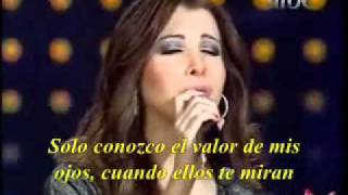 NANCY AJRAM ESPAÑOL LIVE LAMSET EID Subtitulado- Musica Arabe!