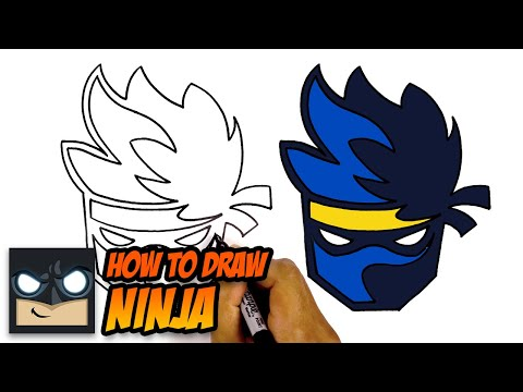 How To Draw The Ninja Logo