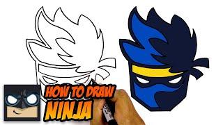 How to Draw The Ninja Logo