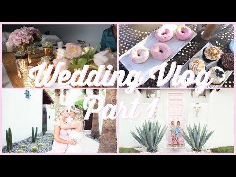 Wegan's Wedding Vlog | Part 1 | Final Preparations! Palm Springs, CA