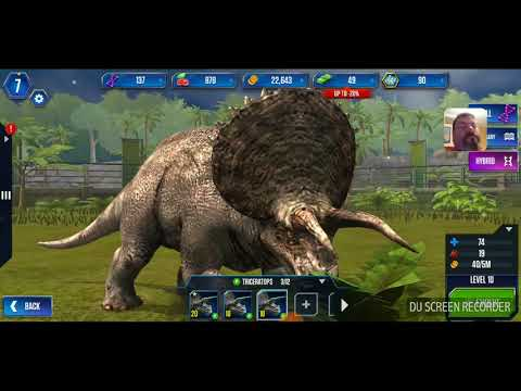 Jurassic World The Game On Android Check out the battles pretty sweet!