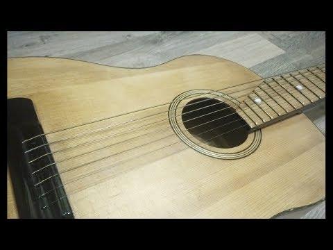 Реставрация советской гитары. Restoration Of The Soviet Guitar.