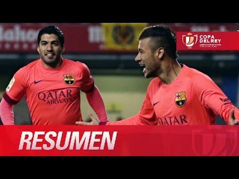 Resumen de Villarreal CF (1-3) FC Barcelona